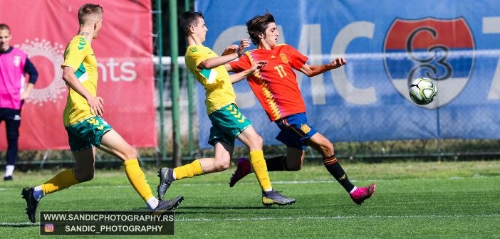 UEFA Euro 2020 Under-19 / Qualification – First stage / Spain – Lithuania / 08.10.2019 (photo gallery)