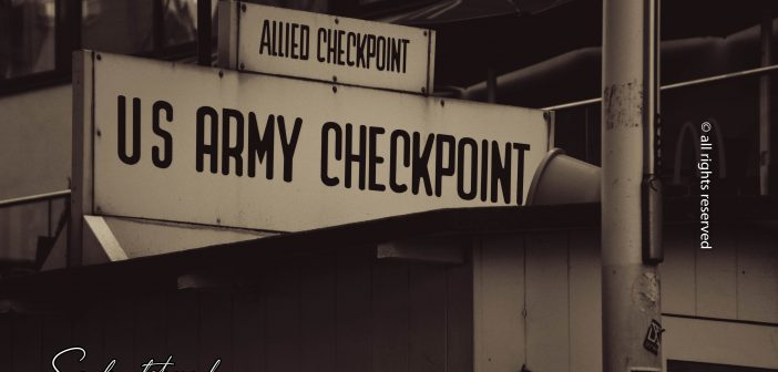 "Checkpoint ""Charlie"" Berlin / photo shoot"