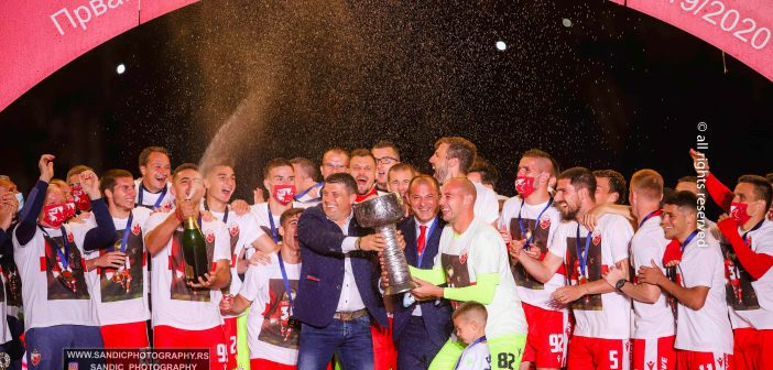 Crvena Zvezda champion of Serbia / celebrating title ceremony / 20.06.2020 (photo gallery)