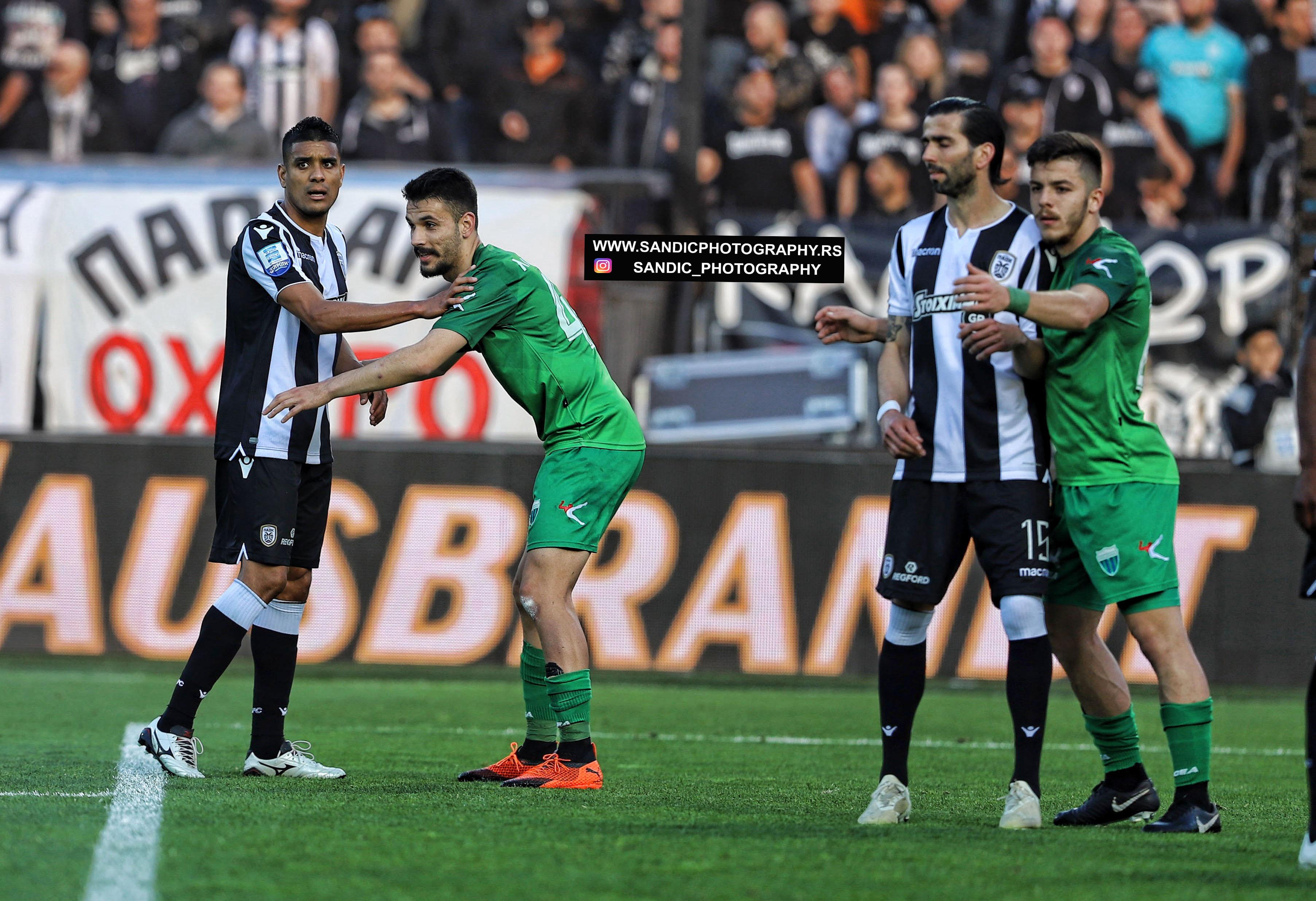 Super League Greece / FC PAOK - FC Levadiakos 21.04.2019 ...