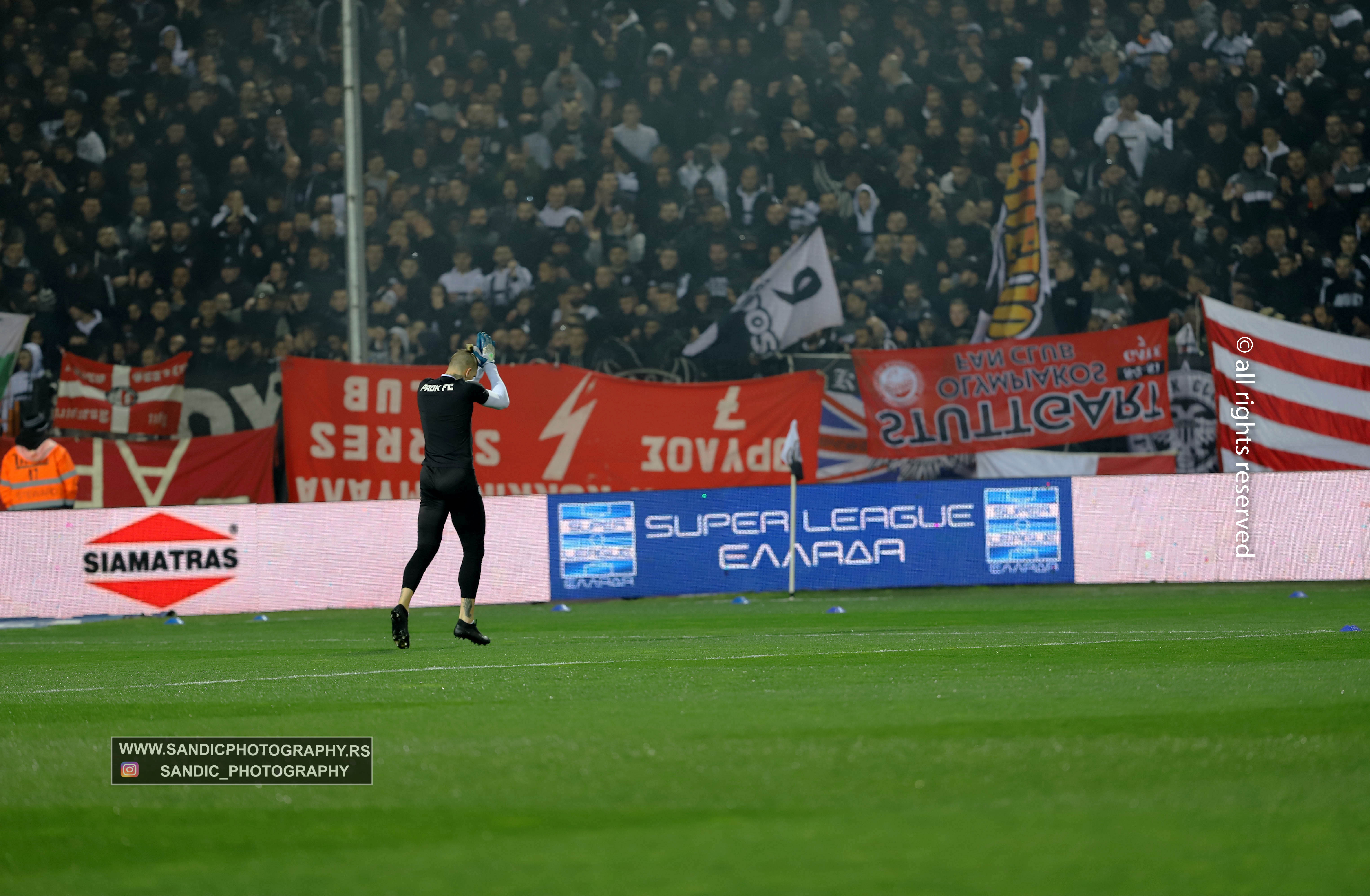 Super League Greece / PAOK FC - Olympiacos F.C 23.02.2020 ...